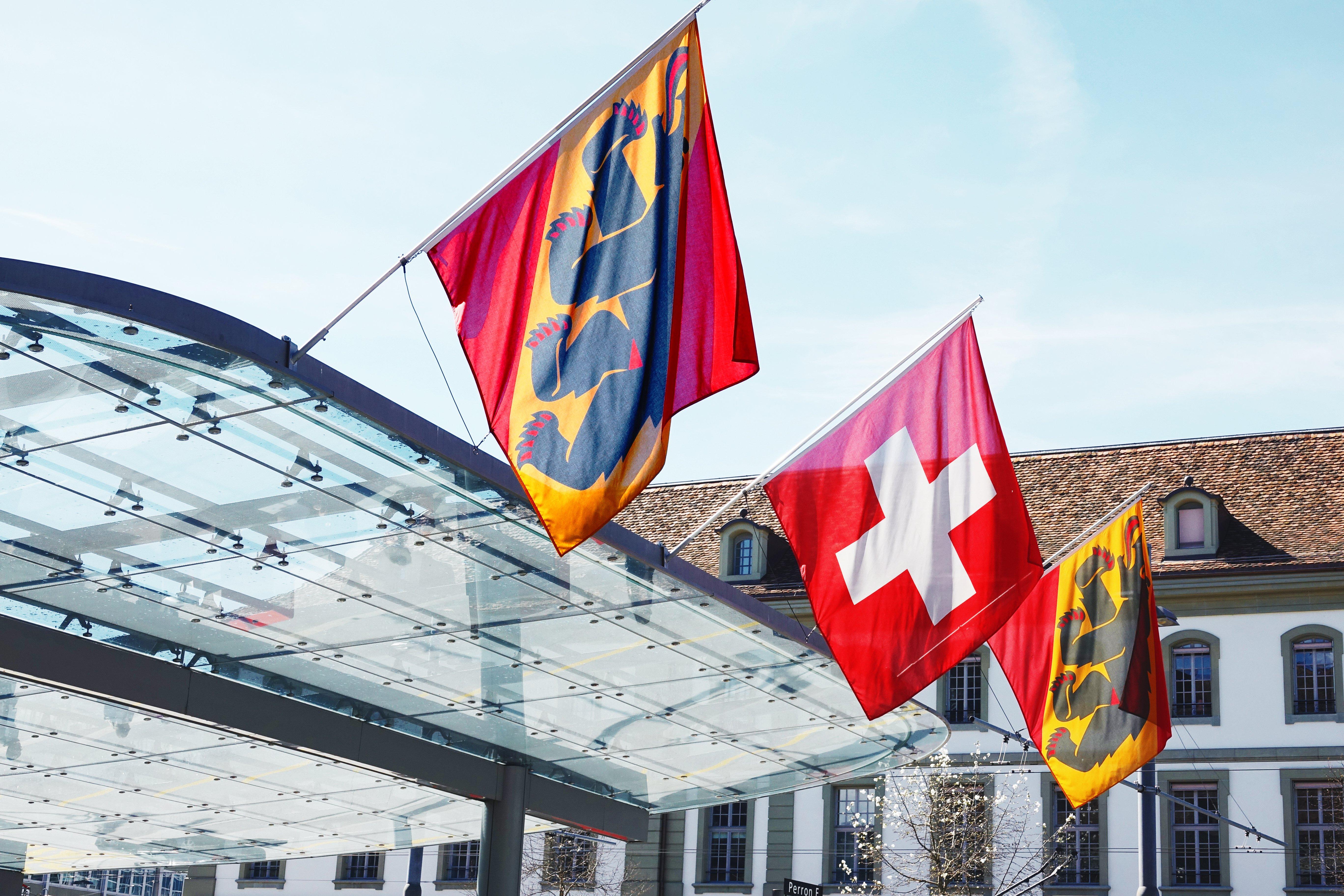Öffentlicher Platz in Bern