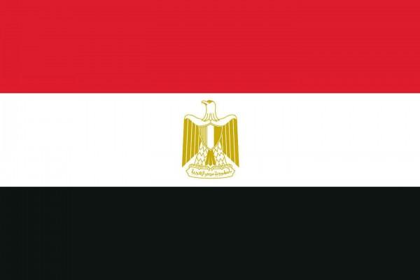 Ägypten Länderfahnen