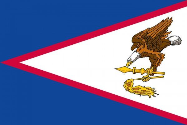 American Samoa Länderfahnen