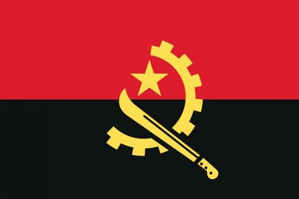 Angola Länderfahnen