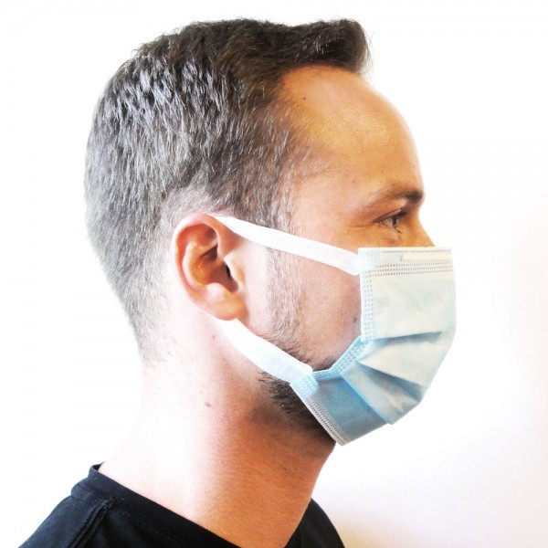 Hygienemaske, 25 Rp. pro Stück