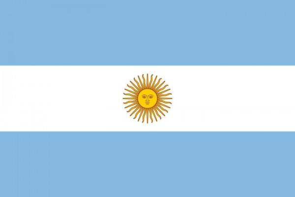 Argentinien Länderfahnen