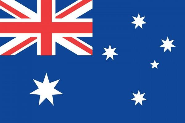 Australien Länderfahnen