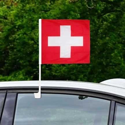 Autofahne Schweiz