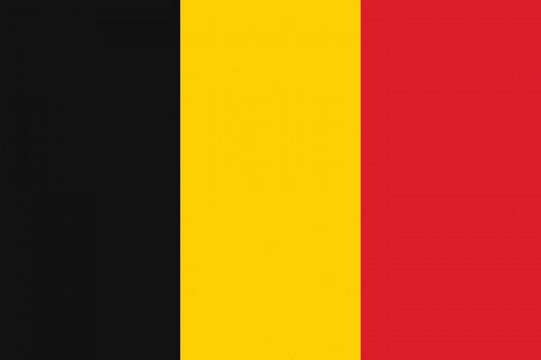 Belgien Länderfahnen