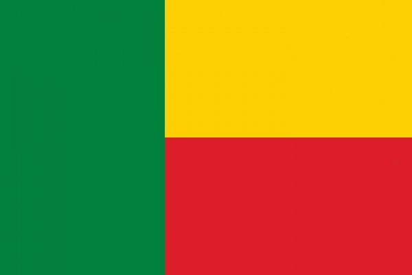 Benin Länderfahnen
