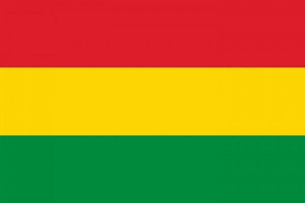Bolivien Länderfahnen