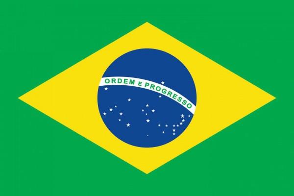 Brasilien Länderfahnen