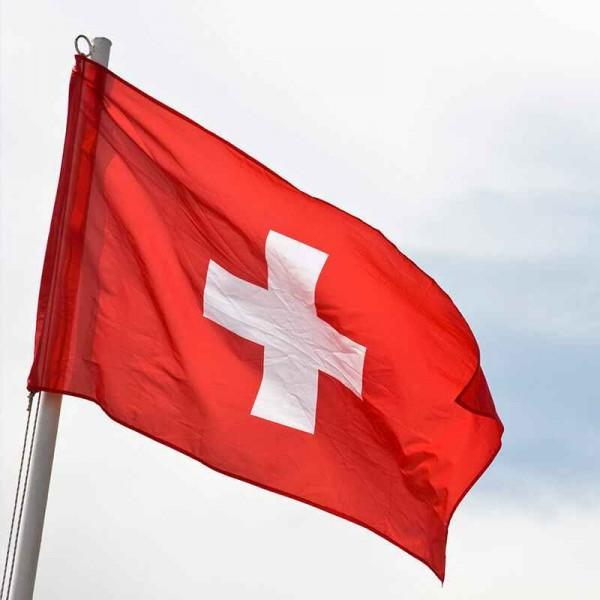 Schweizer Flagge (Querformat)